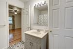 Updated full bathroom with ceramic tile!