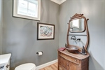 Powder room with wash stand sink!