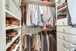 Custom walk in closet with space for everything!