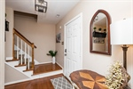 Foyer with Hardwood Floors and Large Closet!