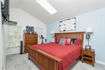 Master Bedroom with Vaulted Ceiling!