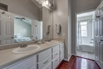 Double vanity with lots of storage!