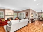 Gracious living with hardwood floors