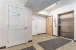 Bsmt garage. Dedicated parking. Storage. Elevator