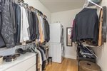 Closet with stackable washerdryer unit