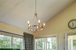 Upgraded light fixtures throughout