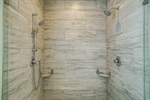 Stunning tile walk-in shower