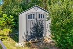 Storage shed for yard tools!