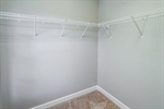 Walk-in closet in bedroom 2