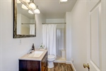 Full basement bathroom with walk-in shower.