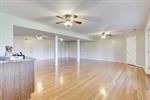 Large basement rec room is full of natural light!
