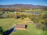 Stunning views on 1.82 private acres