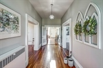 Original pine floors and fresh paint throughout