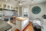 Modern farmhouse kitchen with lots of updates!