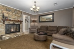 Den-family room with gas fireplace.