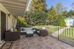 Tiled Patio Perfect for Entertaining