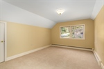 Upstairs bedroom w large closet and walk-in attic