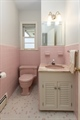 In the style of the 1950s- powder room