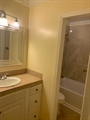 Master shower in separate room