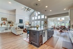 Kitchen opens to great room - great to entertain!