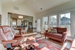 Enjoy a book and morning coffee in the sunroom
