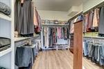 Custom built walk in closet