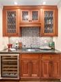 Wet Bar with Wine Refrigerator
