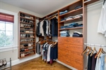 1 of 2 walk-in closets