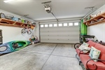 2 car garage with storage