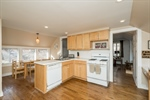 Kitchen in Barn Apartment