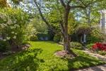 Award-winning yard with extensive gardens