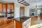 Gourmet kitchen with granite counters!