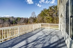Beautiful views on the spacious deck.
