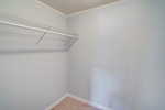 Walk in closet in bedroom 6.