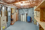 Utility room in basement.