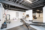 Exercise Area in Basement