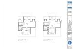 Interior Lot 3rd Level Floor Plans