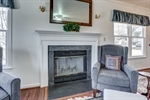 Fireplace with circulator