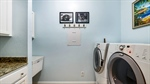 Laundry Room with Sink and Storage!