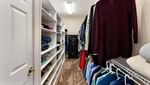 Closet with Built-in Organization!
