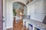 Hardwood floors and arched doorways throughout!