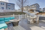 Trex deck is perfect for outdoor living.