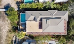Arial Shot - large rooftop deck