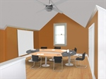 Easily Convert Attic to Conference Area