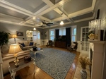 Stunning Living Area leads to Screened Porch