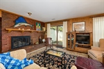 Family Room - Gas Fireplace