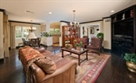 Family Room opens up to Breakfast Nook