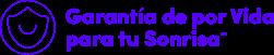 smile lifetime guarantee logo