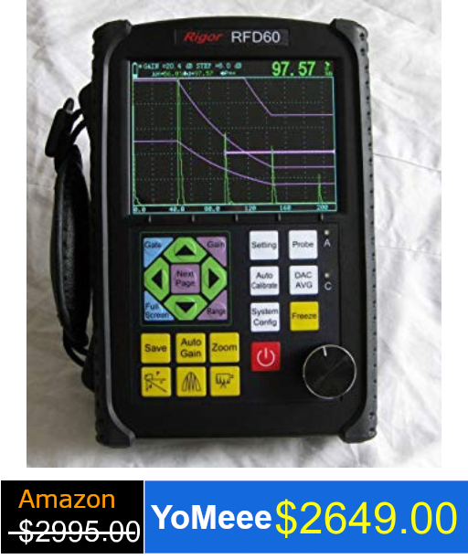 Digital Ultrasonic Flaw Detector RFD 60