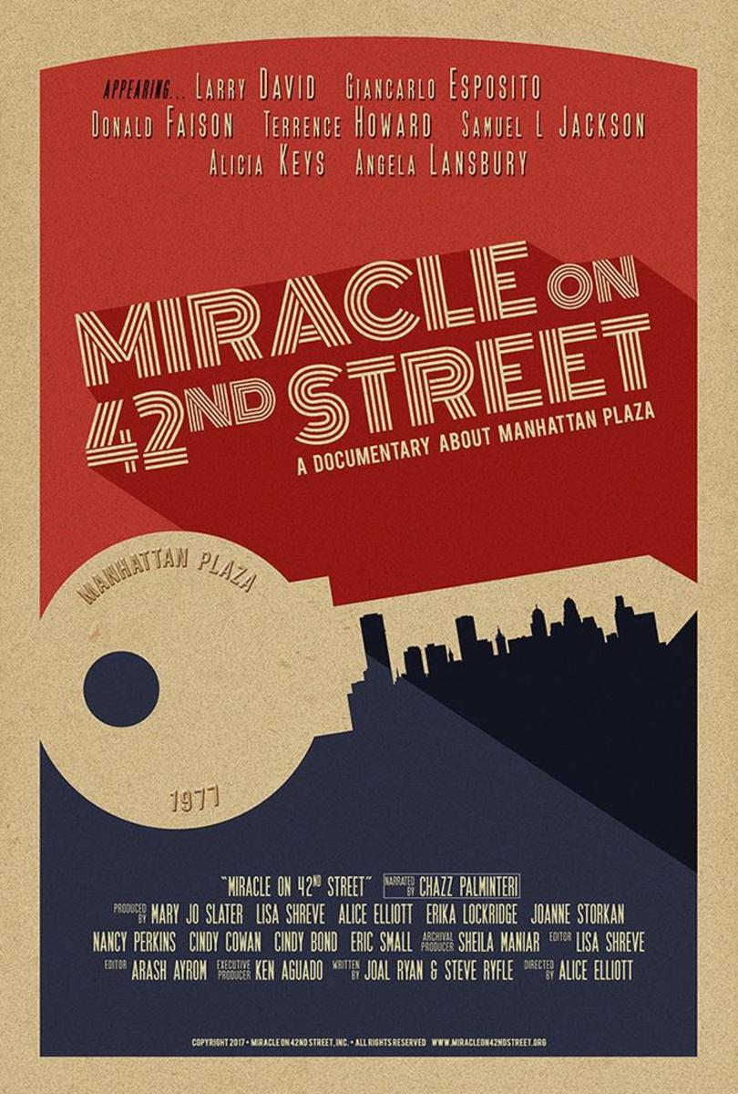 Miracle on 42nd street poster dpi